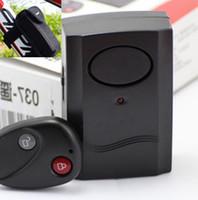 alarm controls locking systems - Bicycle Remote Control Shock Sensor Burglar Alarm System Bike Siren Alertor Cycling Lock Guard Against Theft