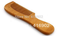 Wholesale traditional cherry wooden comb sandwood wooden natural health care comb