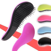 Wholesale Color Hair Comb Professional Detangle hair brush Beauty Healthy Styling Care New Arrival