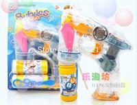 animal water bottle - 96PCS Bubble guns electric music fully automatic bubble gun children toy luminous transparent with bottle bubble water