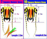 Wholesale new design square meters trilobites soft kite ripstop nylon fabric kite flying higher easy hcxkite factory