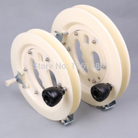 abs fun - new cm kite reel abs wire wheel kite and accessory outdoor fun and sport Hand bearing wheel DIY tool part