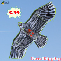 Wholesale New Toys brand cm Huge Eagle Kite With String And Handle Novelty Toy Kites Eagles Large Flying For Gift