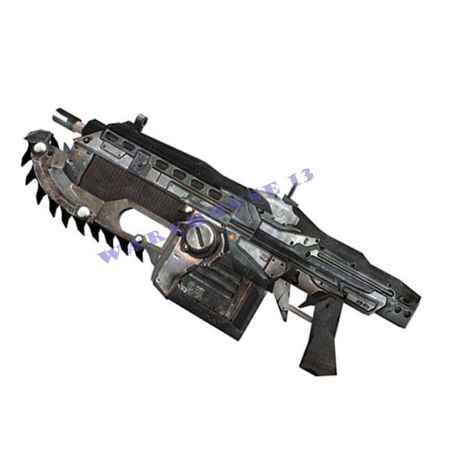 Paper Model Gun Gears of War 2