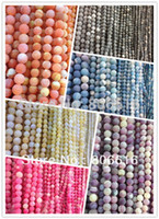 precious jewelry - 4MM Pack dull polish style Natural Agate Loose Strand Bead Semi precious Stone Jewelry Beads