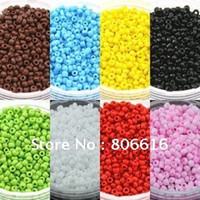 Cheap Ceramics Style 2MM 250G 5Color Czech Glass Seed Beads Loose Spacer Bead Jewelry Beads
