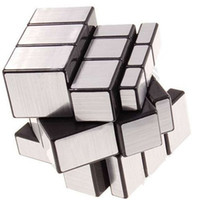 best games world - 5pcs x3x3 Straight Drawing Mirror Magic Puzzle World Twist Game Magic Cube Toy Best Gift for your Son and your friends