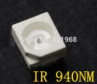 Cheap IR SENSOR 940nm Infrared led 1.0-1.5V Remote control led diode 3528 SMD IR LED