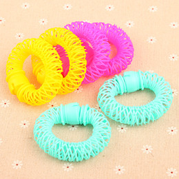 P8428 Free Shipping 6pcs set Large Rollers Professional Hair Styling Device Hair Braider Curled Hair Tools