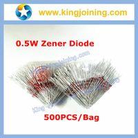 Wholesale 1N5226 W W V V3 Zener diode DO BZX55C3V3