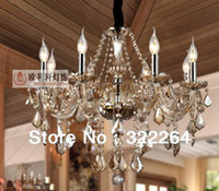 best hotels europe - best selling LED lamp Europe style Luxury K9 crystal ceiling chandelier with lights fixture