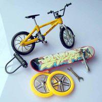 Wholesale DIY Finger extreme sports Finger Bike toys Finger Toys toy finger skateboard