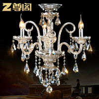 Wholesale Special offer Bulbs European based luxury Crystal Chandeliers for Bedroom Living Room towns amp lighting E14 Z002 freeshipping
