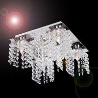 beaded ceiling - 2015 Modern Beaded Ceiling chandelier decoration light in Crystal for Living Room Bedroom Hallway