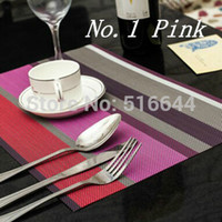 pvc printed placemats - PVC Insulation Placemats Western Pad Dining table Mat Size x30cm