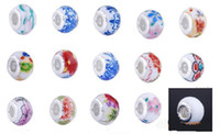 Wholesale NEW HOT European and American styles of ceramic beads Silver