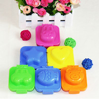 Wholesale New Boiled Egg Sushi Rice Mold Bento Maker Sandwich Cutter Decorating Mould ZH085