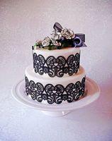 Wholesale lace decoration sugar lace mould cm love hearts romantic wedding fondant cake lace mat