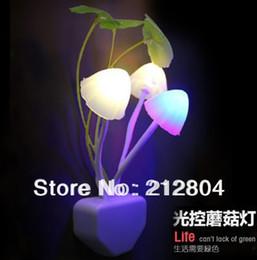 Wholesale HOT Avatar electric induction dream mushroom Fungus Lamp LED table lamp mushroom lamp Energy saving Light Freeshipping