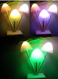 Wholesale New HOT Avatar Round Head Plug Electric Induction Dream Mushroom Fungus Lamp LED Table Lamp Mushroom Lamp led night light Y421
