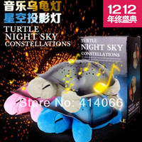 baby projector nightlight - Turtle Led nightlight Music projector Colors Songs star lamp for Children gift comfortable lighting baby bedroom decoration