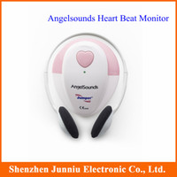 battery jumper box - Hot Jumper Angel Sound Home Use Heart Pulse Rate Heartbeat Fetal Doppler Monitor High Quaity with Retail Box