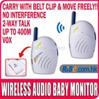 baby sound clips - Sound Digital way talk VOX M Ghz Clip Infant Wireless Audio Baby Monitor