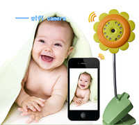 ap tablet - 2015 Newest WIFI wireless AP baby care monitor with audio support TF card iOS and Android smart phone tablet pc