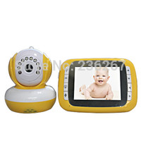 baby temperture - Wireless Digital TFT Video baby Monitors Image and Sound Transmission Audio Kid Monitor VOX Crystal Voice Music Temperture