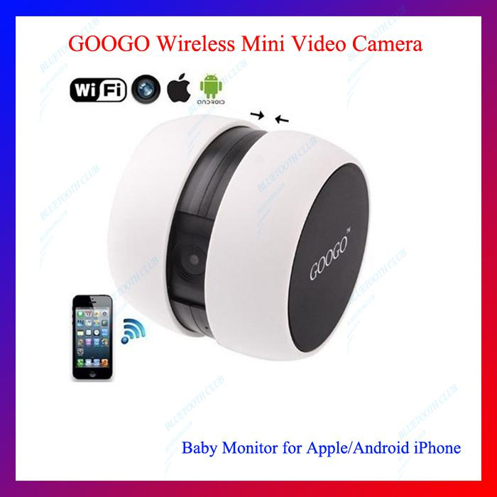 online cheap mini googo wireless wifi video camera baby monitor for iphone ipad and samsung. Black Bedroom Furniture Sets. Home Design Ideas