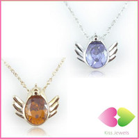 Wholesale Lovely Chicken Run Necklace Crystal Necklace Color Mix Teens n Youth Fashion Jewellery Free DHL
