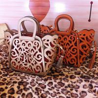 big purses sale - 2015 Hot Sale Tassel Cut Out Women Handbag Hollow Out Vintage Big Purse Shoulder Tote Messenger Bags