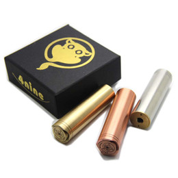 Wholesale New infinite nine Mechanical Mod copper nine mod Stainless Steal Fit atty v2 tugboat Kayfun Ithaka atomic cat Atomizer