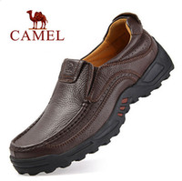 mens boots - Men boots Brand Leather shoes Plus size Fashion ankle boots Handmade mens spring and autumn shoes