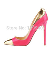 ladies shoes size - ROSE GOLD WOMENS LADIES HIGH HEELS PUMPS THIN STILETTO Pointed Toe High Heel PARTY COURT SHOES SIZE US