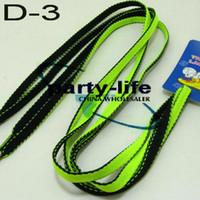 Public green shoelaces - Double Color Flat Shoe Lace Shoelace Strings for Sneakers D black green pairs