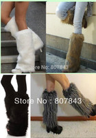 fluffy boot - women s Fluffy Fuzzy Faux Fur Fashion Dance Leg Warmers Muffs Boot Covers cm