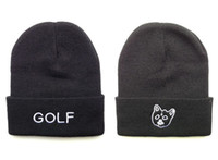 Wholesale Hip Hop Unisex GOLF WANG Beanies Wen s Women s Winter knit Cotton wool Hats Snapback caps