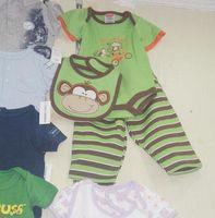 Wholesale baby clothes Set Baby Rompers Bib Bodysuits Oneises Pant pajamas clothes romper Bodysuits