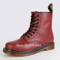 dr martens boots - 2015 new high quality Dr genuine leather martin boots martin shoes men amp women famous marten brand designer motorcycle boots
