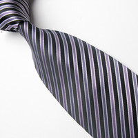 Wholesale stripes neck tie neckties men s ties silk ties Necktie men ties Men s Accessories
