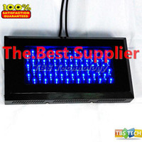 Wholesale W All Blue High Power LED Hydroponic Lamp Plant LED Grow Panel Light