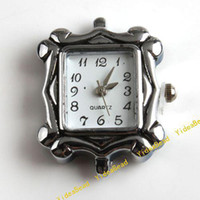 Wholesale 10New Carved Watch Face li ion battery Square Watch Case Accessories gift Have stock