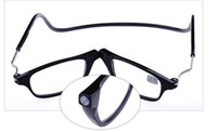 magnetic reading glasses - fashion magnetic folding reading glasses unisex oculos glasses of grade presbyopic newest
