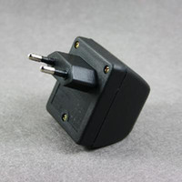 Wholesale 100 brand new EU Plug AC to Car Cigarette Charger Converter Black