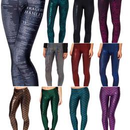 Women Legging Trousers Blak Milk Hamlet Leggings Printed Womens Leggins Fitness Clothing For Women Plus Size Xs-Xl