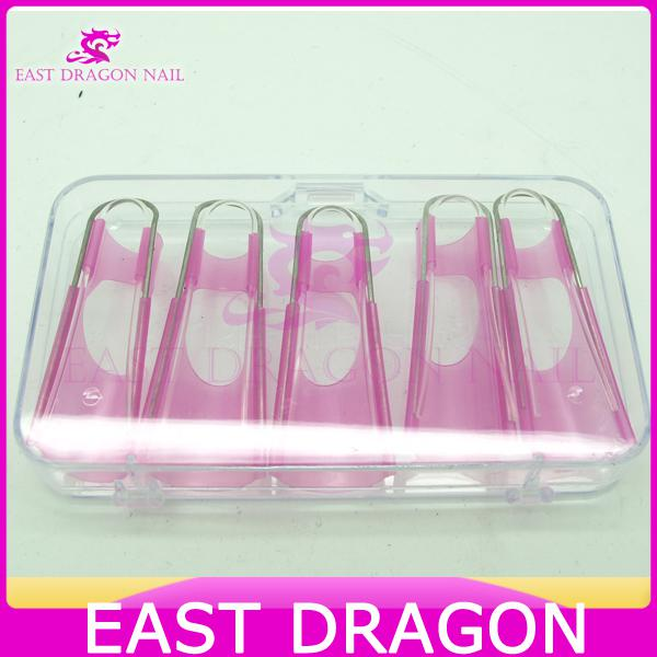X Eco Friendly Plastic Dual Stystem Reusable Nail Form For