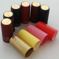 Cheap Free shipping Pvc heat shrink cap wine sealing cover red wine bottle wine bottle cork wine cap