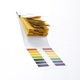 Le commerce de la peau en Ligne-test de PH bandes pH 1-14 largement supérieurs produits de qualité de soins de la peau 80pcs / set peut être mesuré dans le corps d'urine pH commerce extérieur