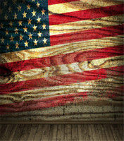 america gallery - Vintage Dark America Flag Wall Wood Floor Indoor Vinyl Backgrounds x7ft Wedding Photo Studio Gallery Computer Printed Backdrops